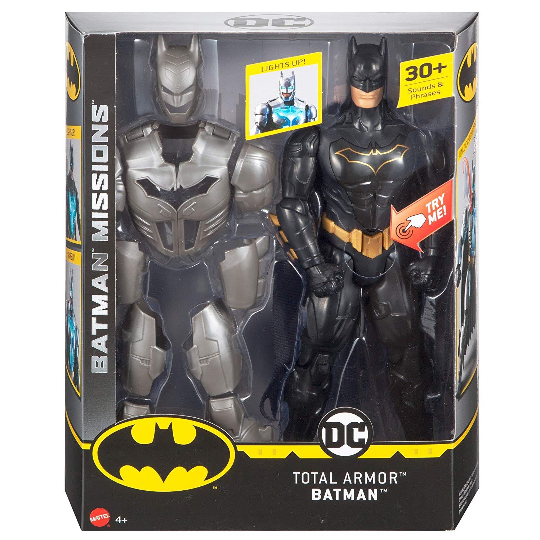 DC 蝙蝠俠任務系列 聲光12吋模型