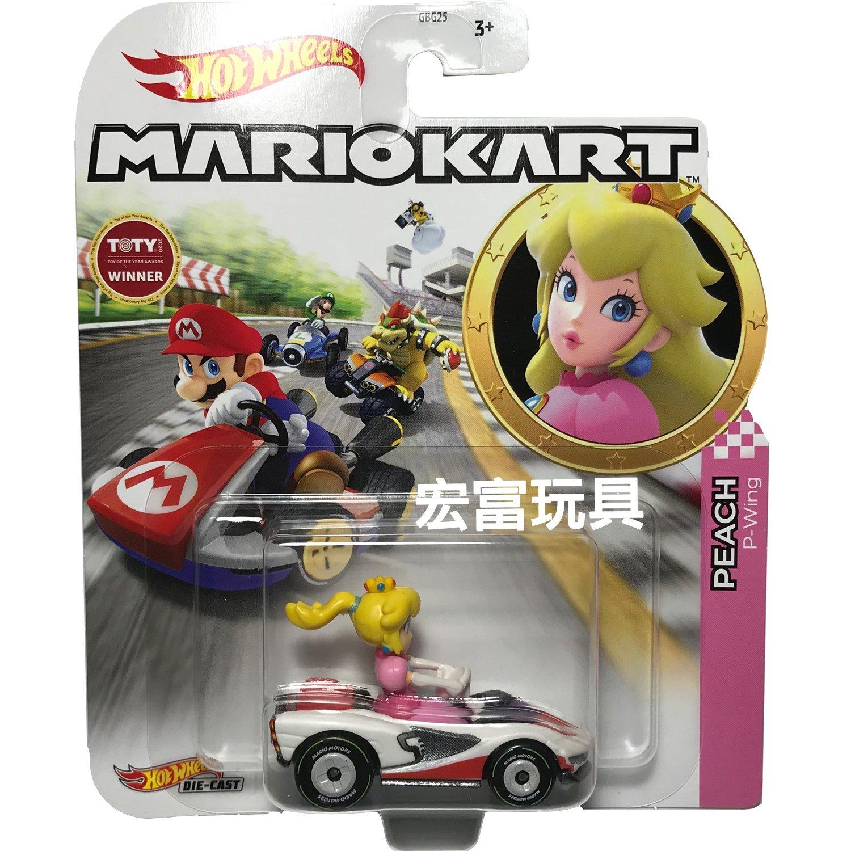 風火輪Mario Kart 合金車系列 PEACH