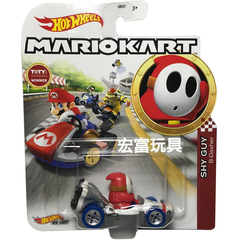 風火輪Mario Kart 合金車系列 SHY GUY