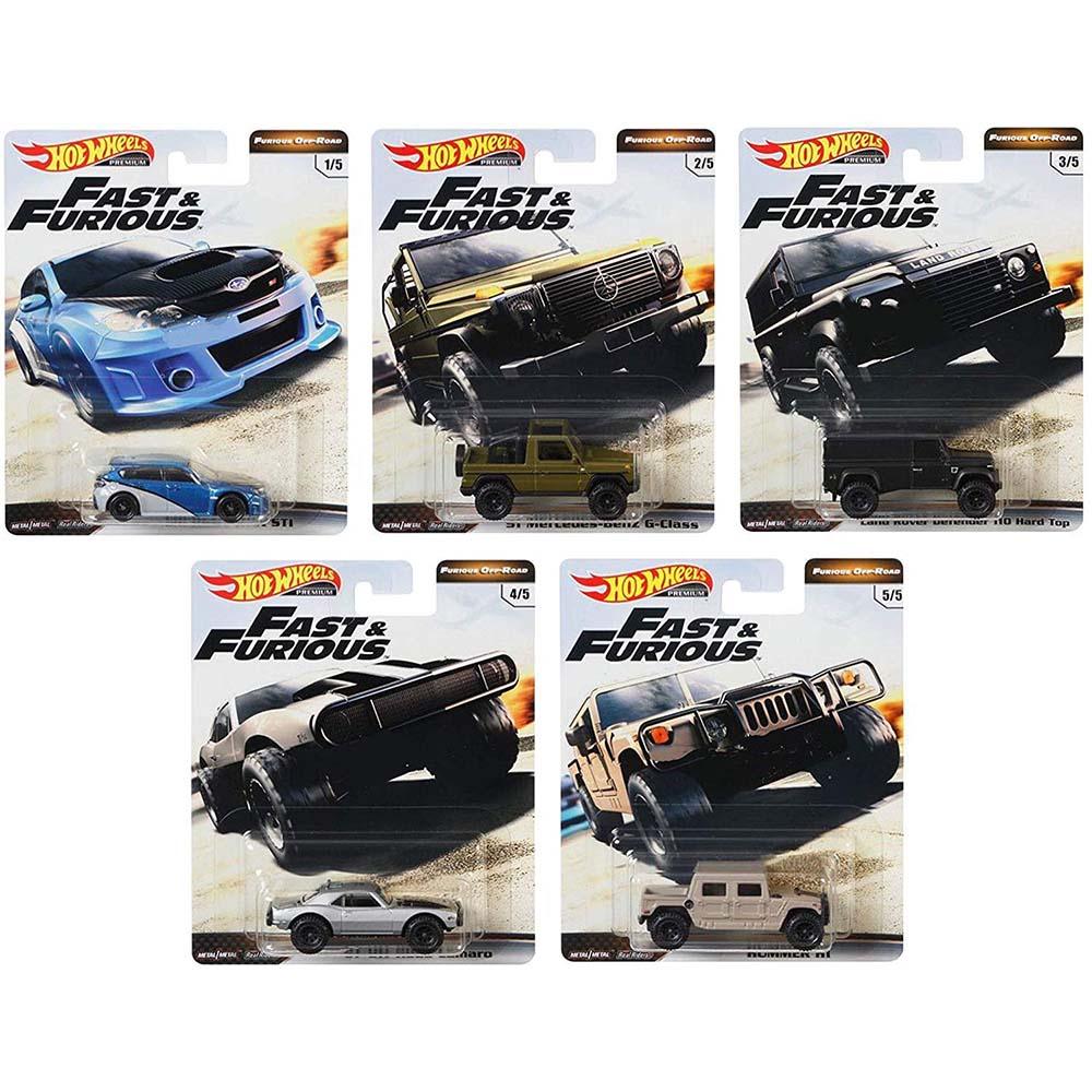 風火輪Fast & Furious合金車系列