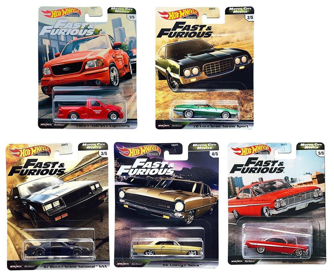 風火輪Fast&Furious合金車系列