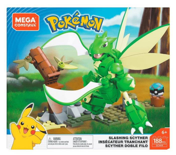 MEGA創建寵物小精靈飛天螳螂格鬥組合