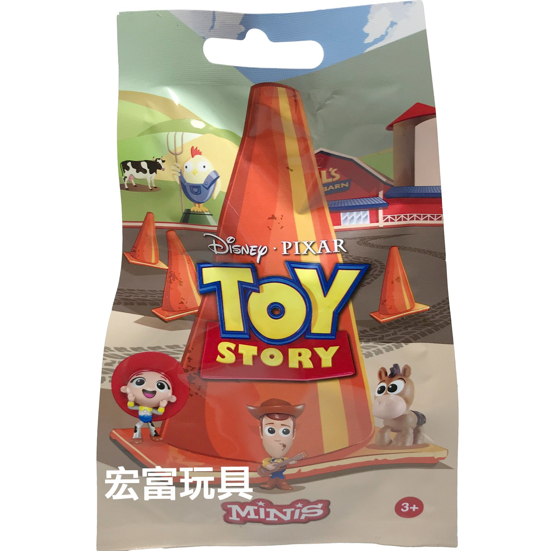 MATTEL 玩具總動員 迷你公仔 【隨機出貨】