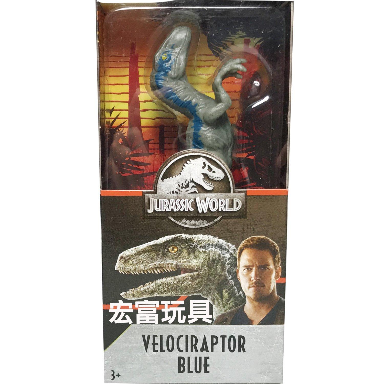 侏羅紀世界 6吋恐龍 (VELOCIRAPTOR BLUE)