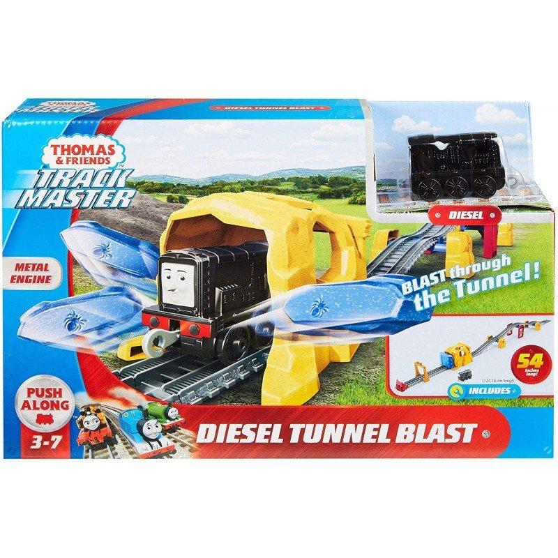 MATTEL 湯瑪士小火車隧道組合