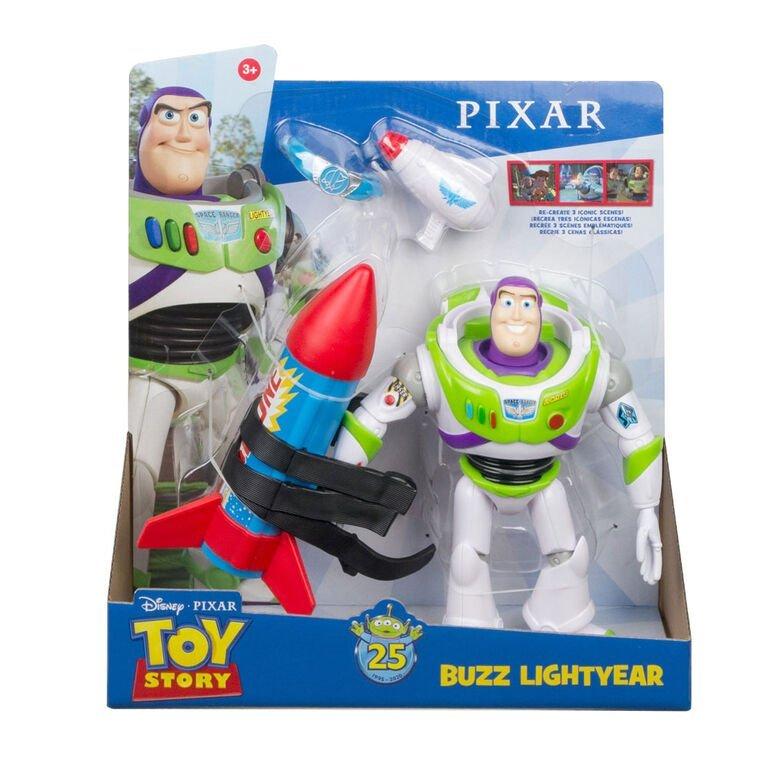 Mattel 玩具總動員 25週年模型 巴斯光年