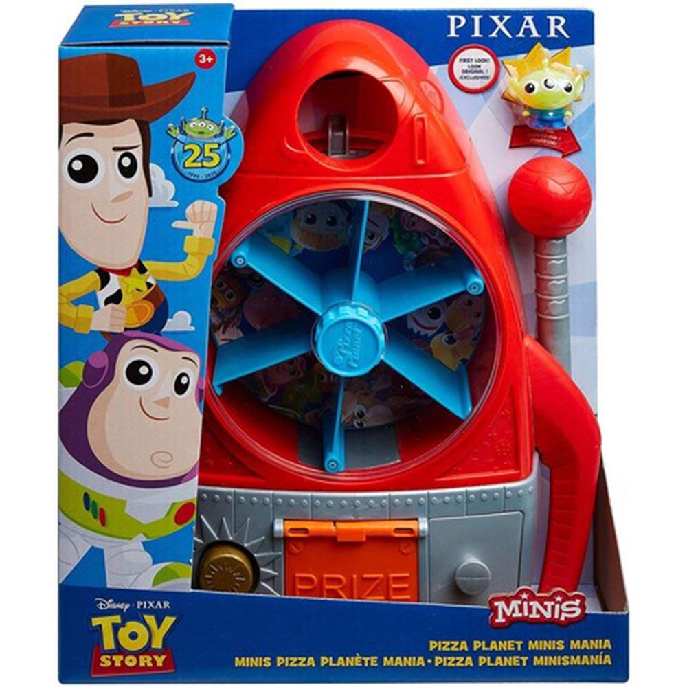 玩具總動員 比薩星球轉盤遊戲組 MPX81164 【特價品】