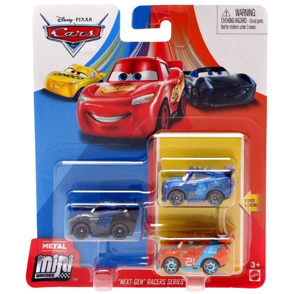 MATTEL CARS 汽車總動員3 迷你小汽車3入組