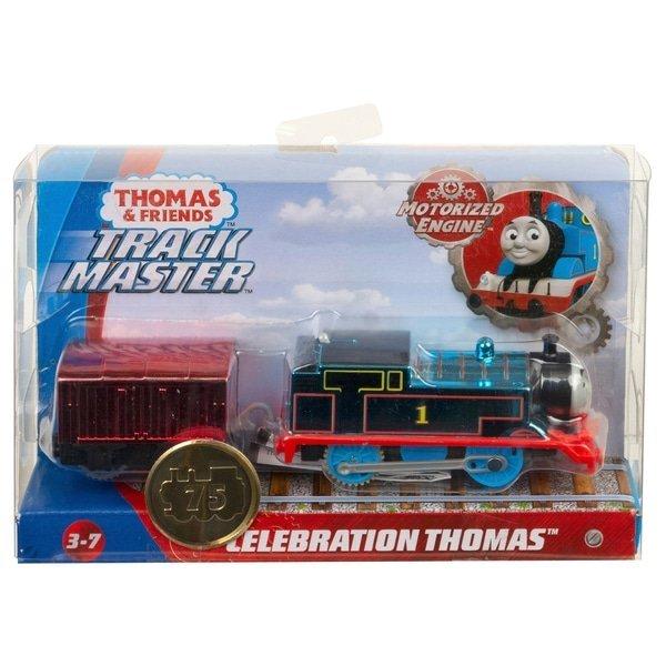 湯瑪士限量金屬色小火車 Celebration Thomas