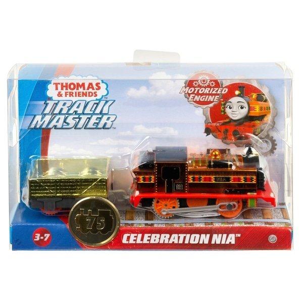 湯瑪士限量金屬色小火車 Celebration NIA