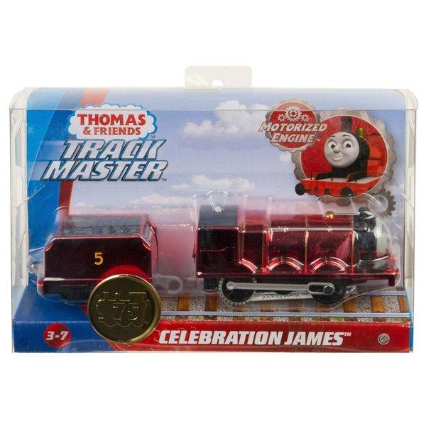 湯瑪士限量金屬色小火車 Celebration JAMES