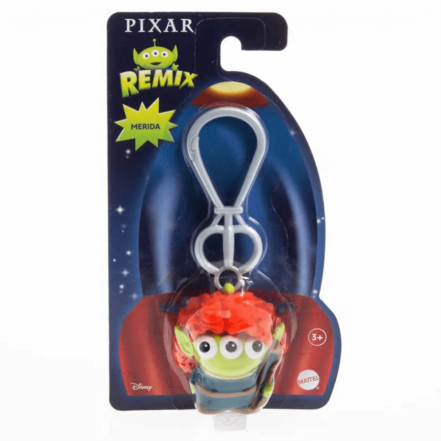 Pixar 三眼仔變裝造型鑰匙圈系列 MERIDA