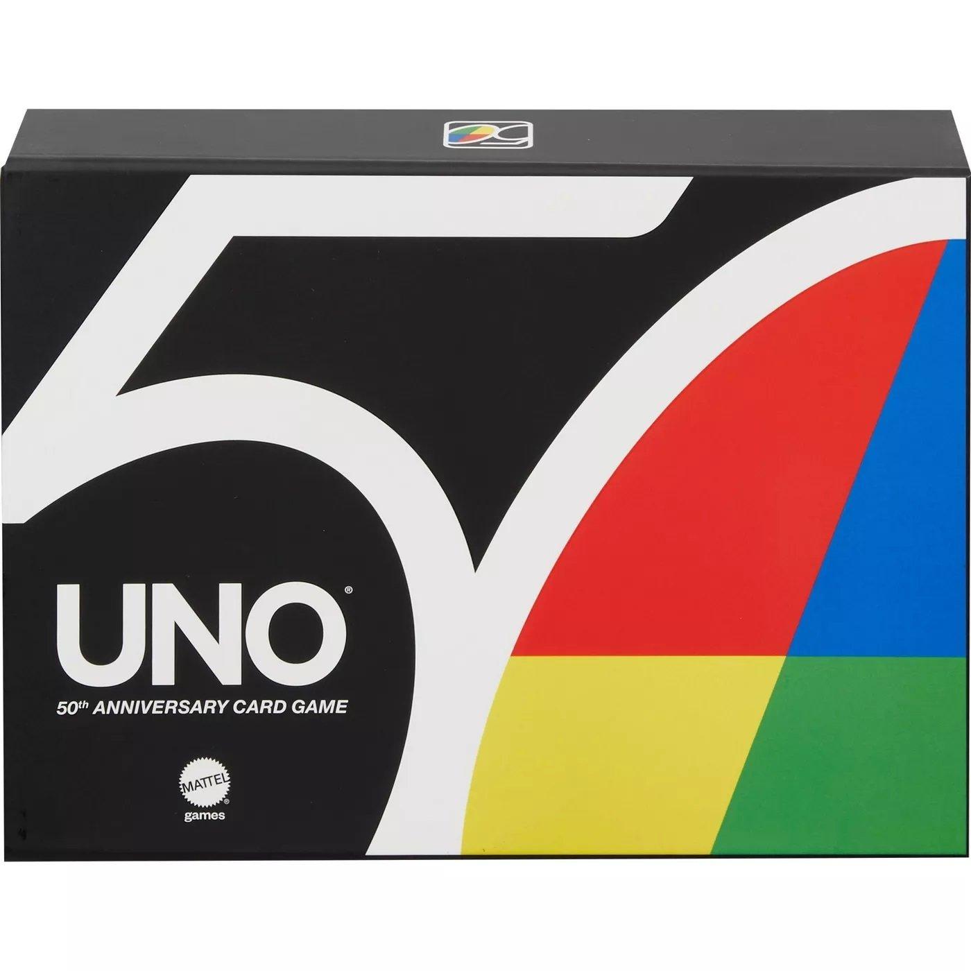 MATTEL 桌遊 UNO 50週年特別版