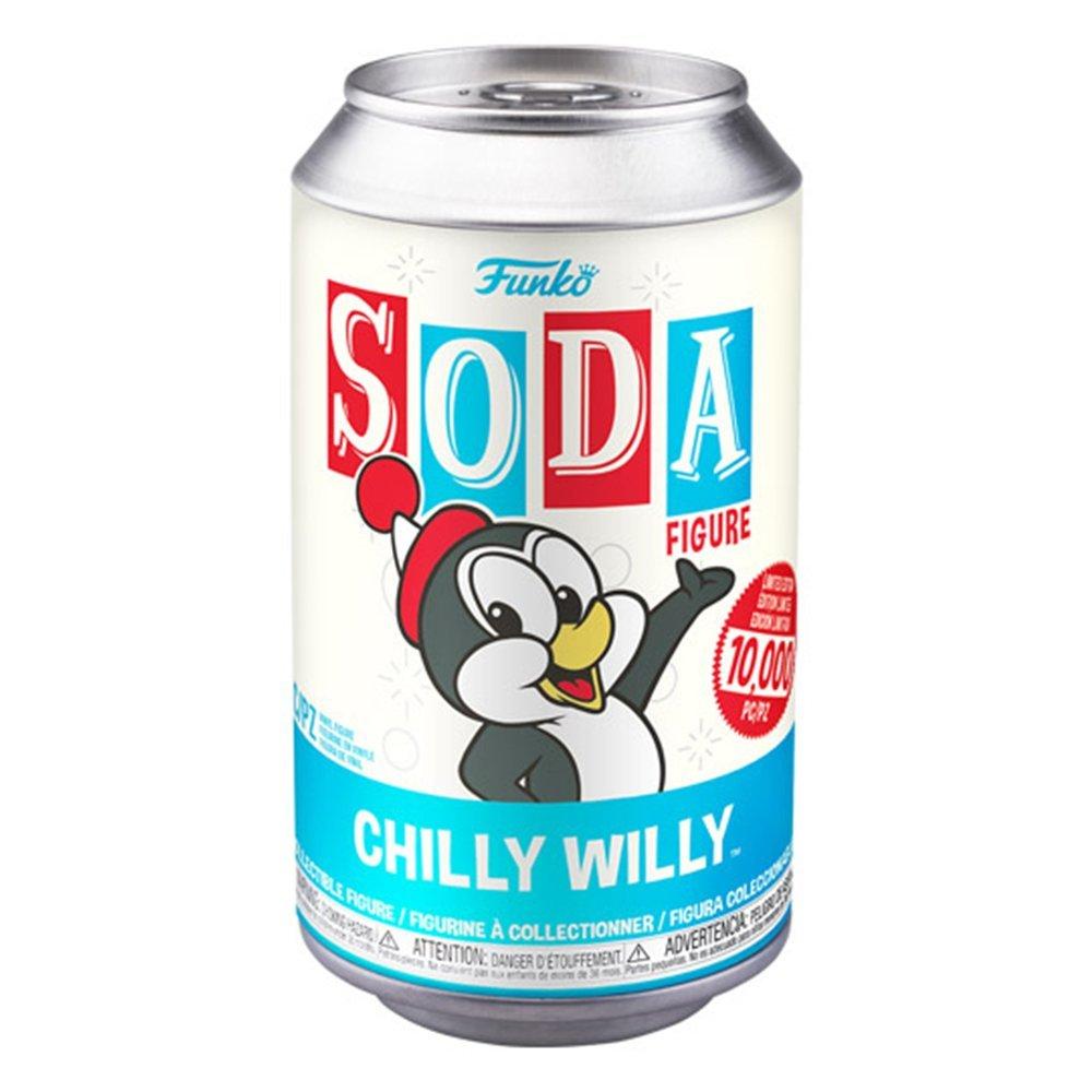 FUNKO Vinyl SODA ChillyWilly 企鵝 or Chase 【隨機出貨】