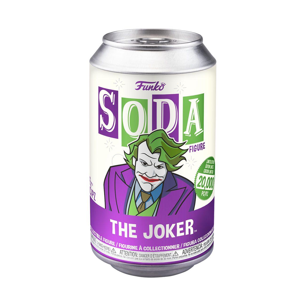 FUNKO Vinyl SODA DC系列 希思·萊傑 小丑 or Chase 【隨機出貨】