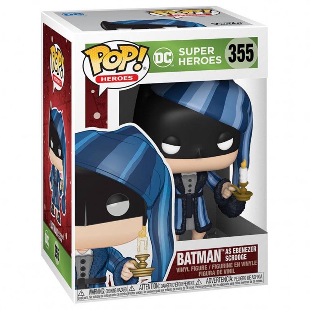 FUNKO POP DC系列 355 聖誕節 睡衣蝙蝠俠