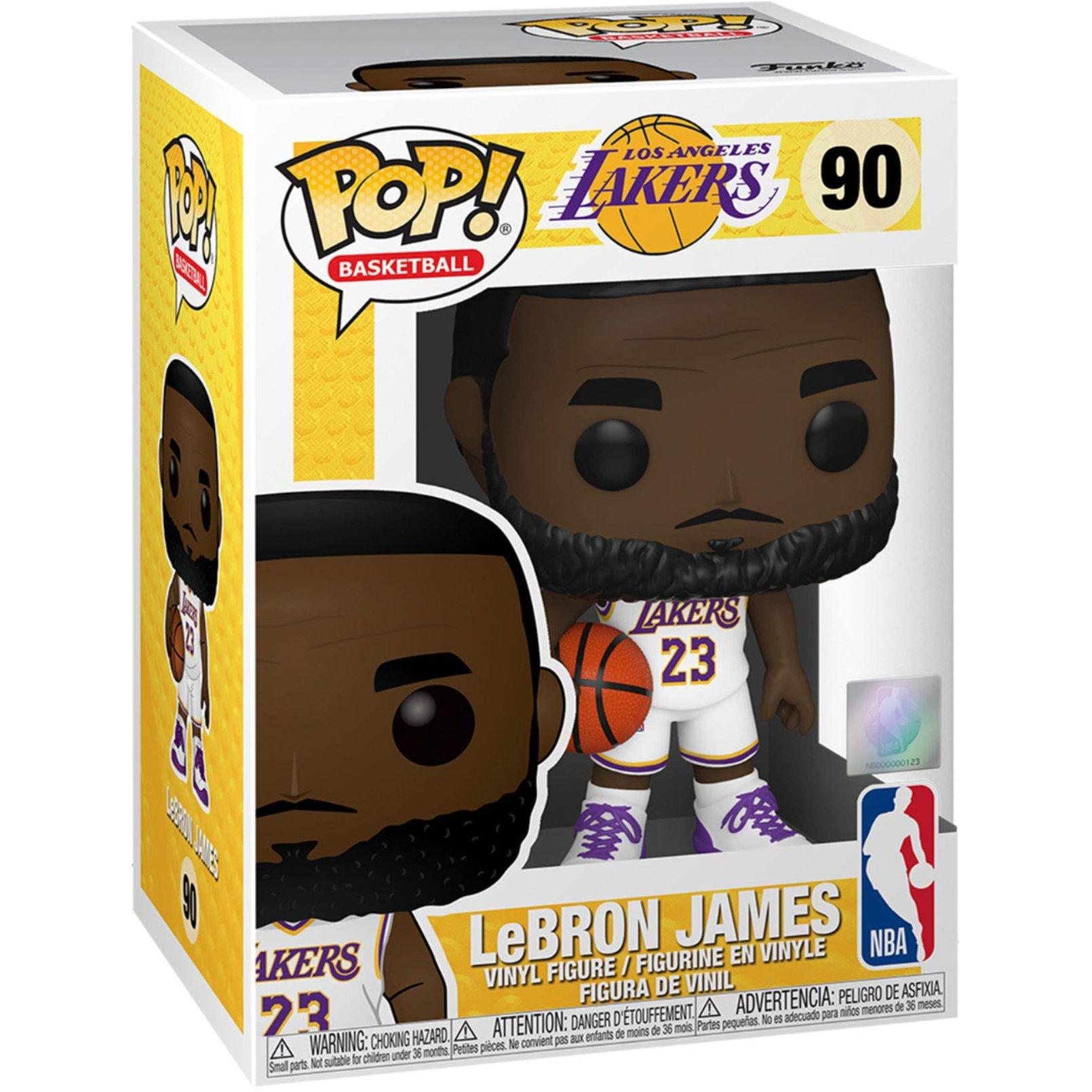 FUNKO POP NBA系列 90 洛杉磯湖人 勒布朗·詹姆士