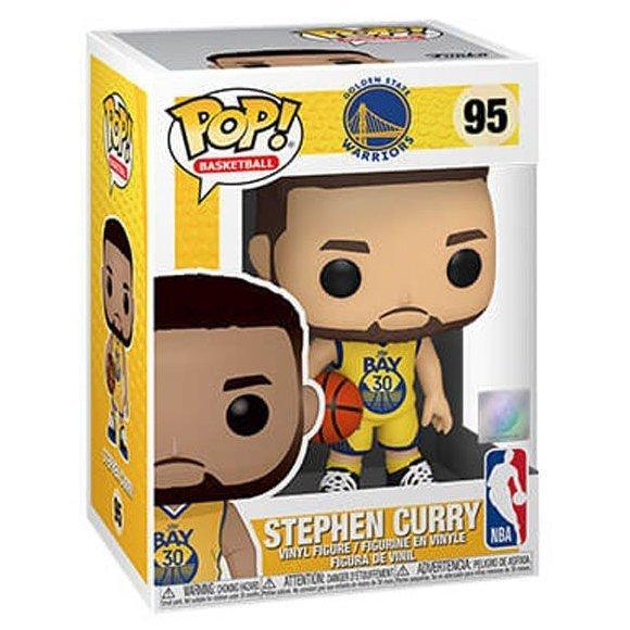 FUNKO POP NBA系列 95 金州勇士 史蒂芬.柯瑞