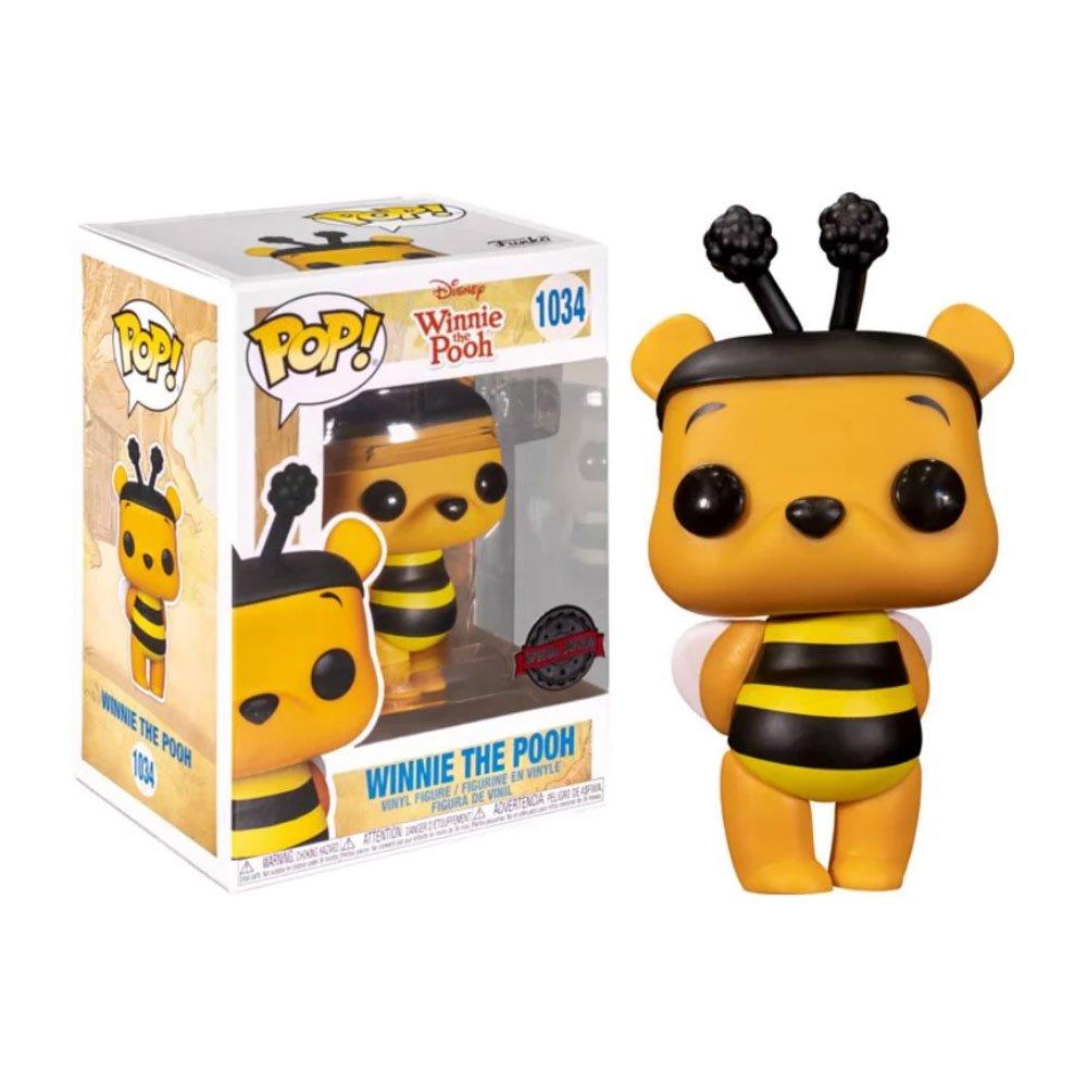 FUNKO POP迪士尼 小熊維尼 1034 小熊維尼蜜蜂版