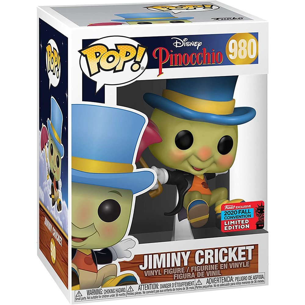 FUNKO POP 迪士尼 980 小木偶 蟋蟀吉明尼 2020NYCC