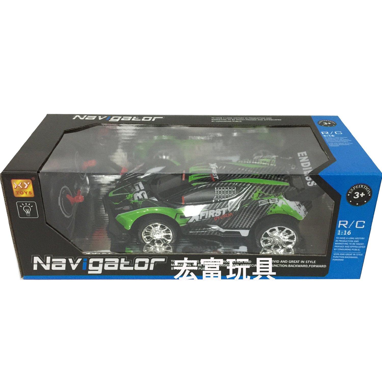 AJ11-23 1:16賽車遙控車 (K2985) 綠