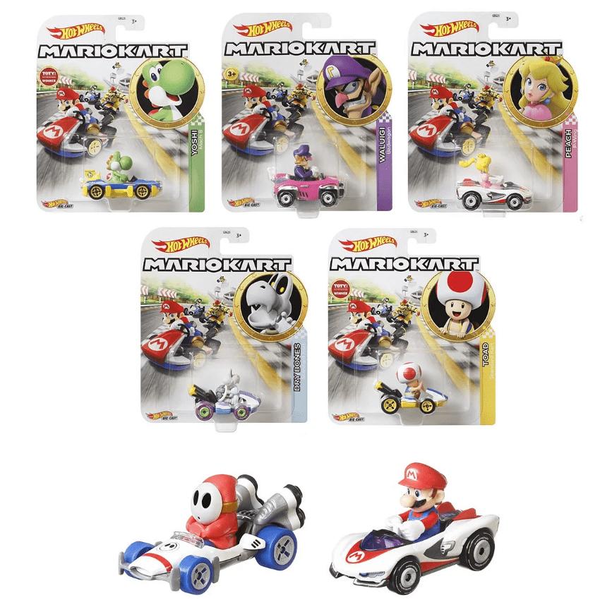 風火輪Mario Kart 合金車系列 【一組8台不拆售】J