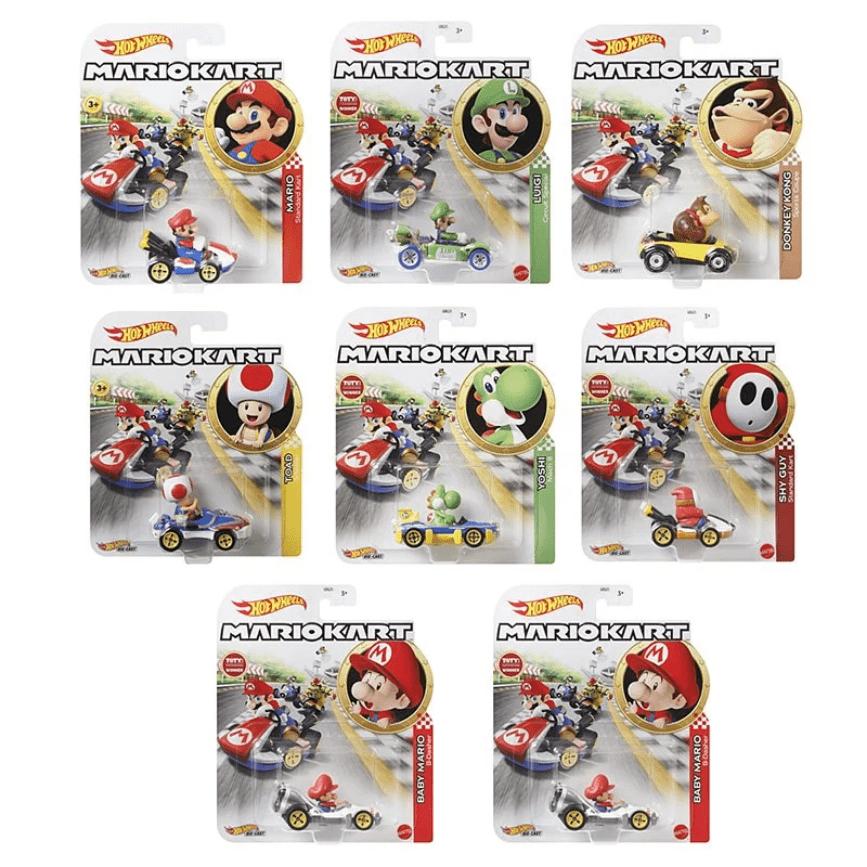 風火輪Mario Kart 合金車系列 【一組7+1台不拆售】K